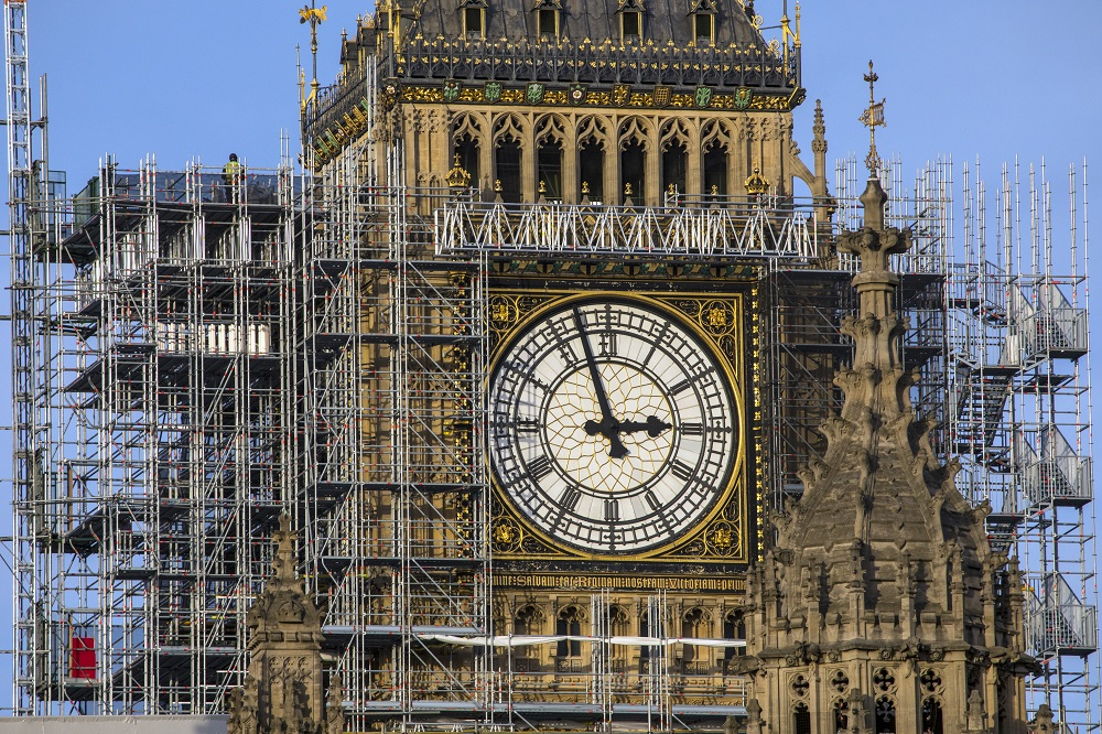 Big Ben, Major UK Construction Projects to Watch in 2018