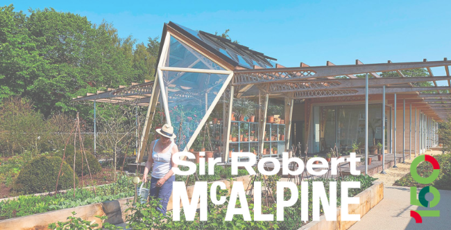 Sir Robert Mcalpine project greenhouse