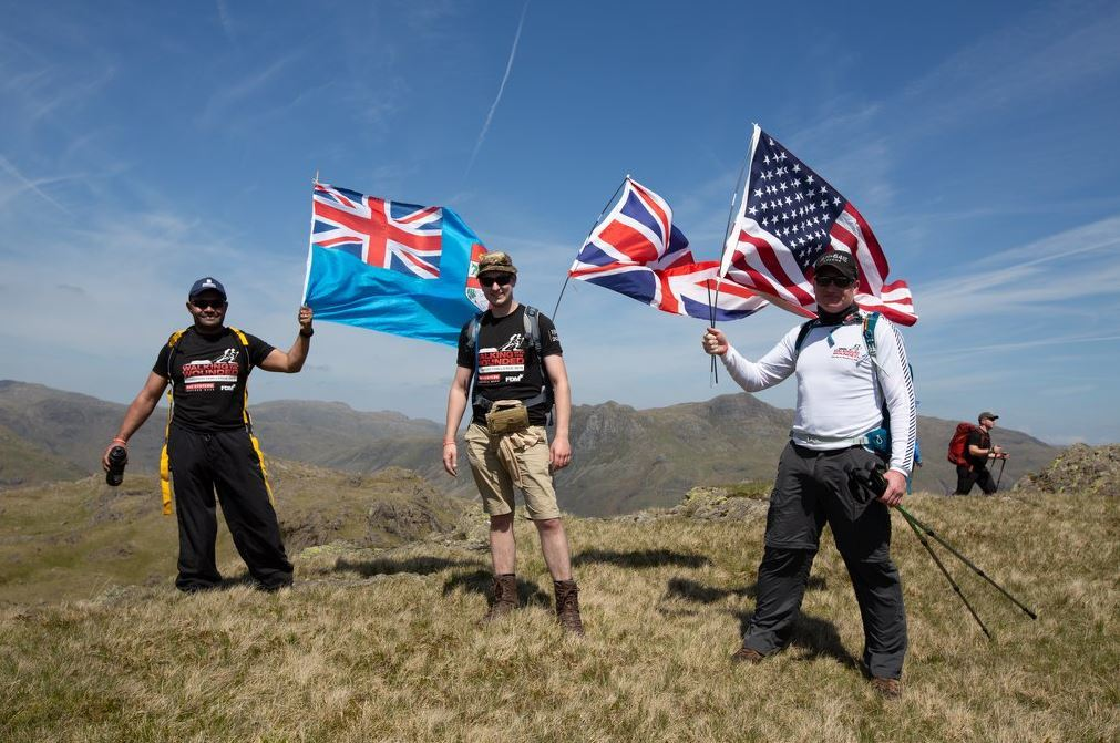 Walking With The Wounded Cumbrian Challenge